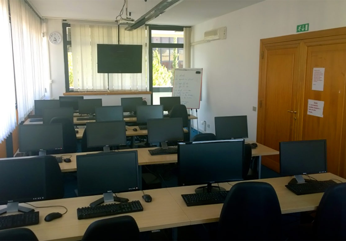 Noleggio aula multimediale corsi